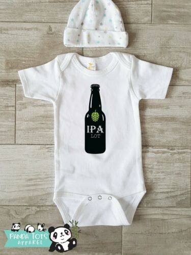 I Pee A Lot Funny Shirt for IPA lot Baby Onesie Funny Beer Themed Baby Onesie