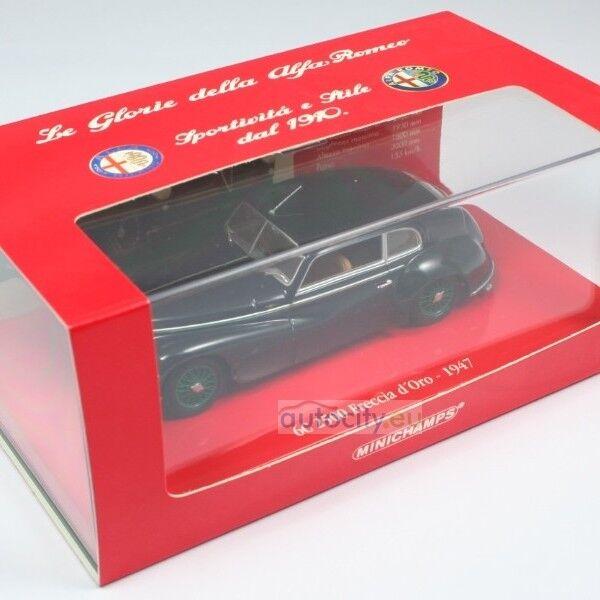 Joyeux Noël, bon shopping MINICHAMPS ALFA ROMEO 6C 2500 FRECCIA D'ORO DARK BLUE 403120483 | Matériaux De Haute Qualité