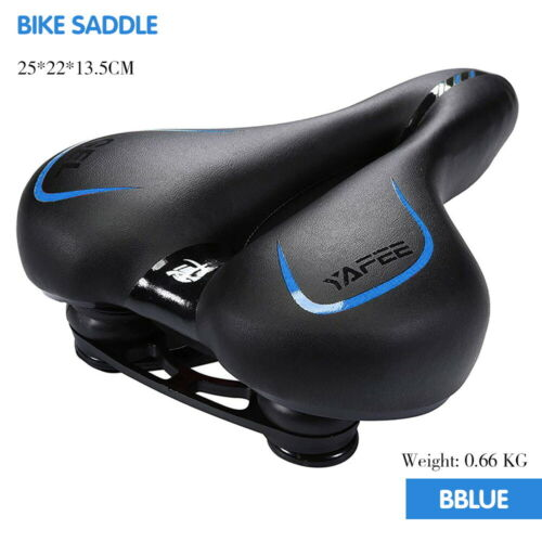 Bike Saddle Seat Cover Soft Extra Comfort GEL Bicycle GYM /& Spinning Classes UK