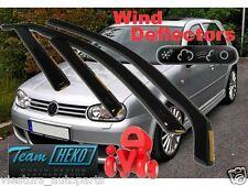 VW GOLF MK4 IV 1997-2004 5.door WIND DEFLECTORS 4 Pcs. set. HEKO 31132