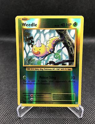 Pokemon Evolutions Weedle 5//108 Reverse Holo Pack Fresh TCG