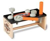 Harley-davidson Kid's Wooden Work Bench, Bar & Shield, 10.25 X 5 X 5.5 In 20141