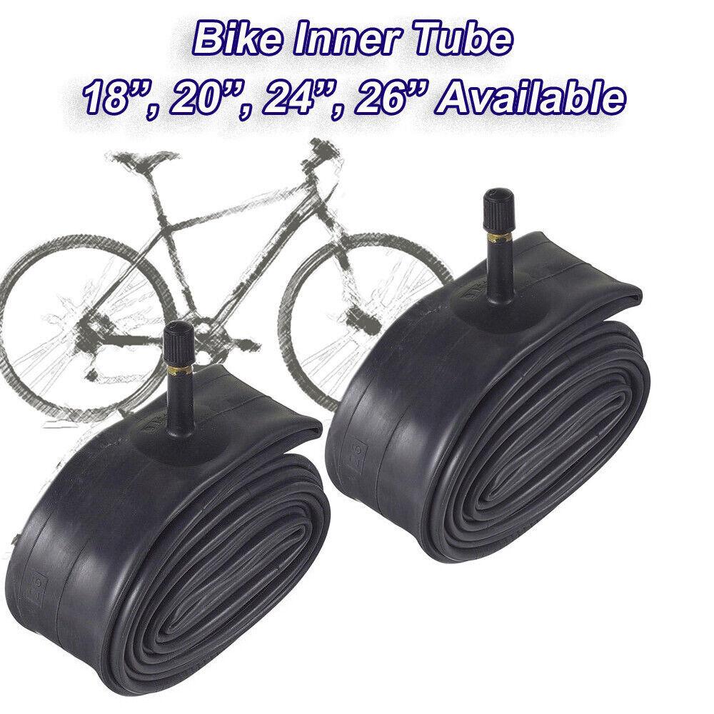 """Pair 18 x 1 3//8/"""" Bike Tubes Vintage Cycle Tubes Schrader Valves Cheapest AV"""
