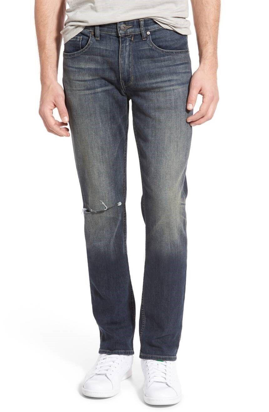 Paige, 'Federal' Slim Straight Leg Jeans NWT, 32