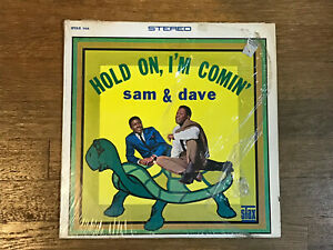 Sam-and-Dave-LP-in-Shrink-Hold-On-I-039-m-Comin-039-Stax-708-Stereo