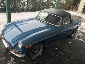 1973 MG MGB Manuel