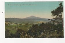 Sugar Loaf From Deri Mountain Abergavenny Vintage Postcard 759a