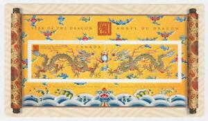 CANADA-2000-Souvenir-Sheet-1837-Year-of-the-Dragon-MNH
