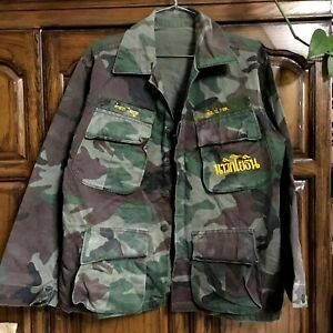 Details about Royal Thai Marine Corps HBT ERDL Leaf Pattern Shirt & Pants  1980 Vintage Uniform