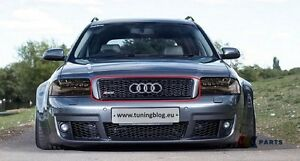 Audi Rs6 A6 S6 C5 02 05 Genuine Front Bumper Upper Grill
