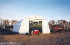 Durospan Steel 25x40x14 Metal Garage Diy Hot Rod Workshop Building Kit Direct