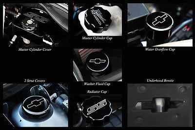 2010-2014 Chevrolet Camaro GM Licensed Billet Underhood Kit Black