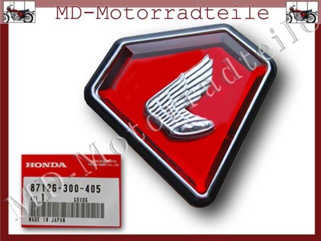 Honda CB 750 Four K1 Seitendeckelemblem links neu