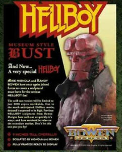 Museum-Hellboy-Bust-New-Bowen-Designs-Mike-Mignola-2004-Amricons