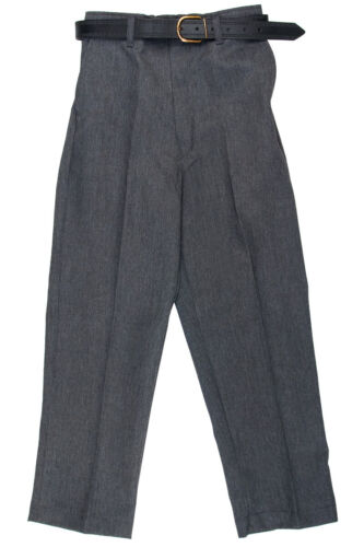 Half Elastic Pant With Belt Macdonald School Uniform Boys Extra Waist Trouser