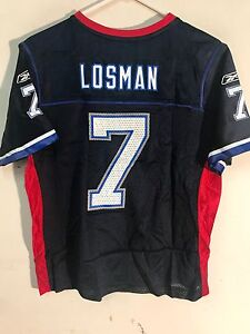 d538123c9 Reebok Women s NFL Jersey Buffalo Bills J.P. Losman Navy sz XL