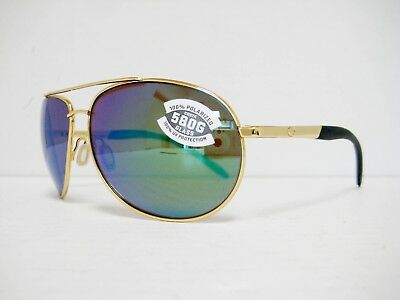 0c708c4802 new Costa Del Mar WINGMAN Sunglasses Gold Green Polarized 580G WM 26 OGMGLP