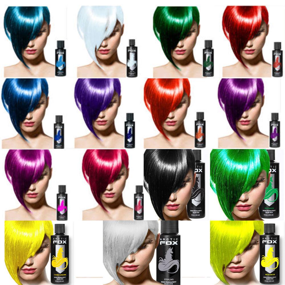 Arctic Fox 100 Vegan Poison Semi Permanent Hair Dye Color 8 Oz Ships Ebay