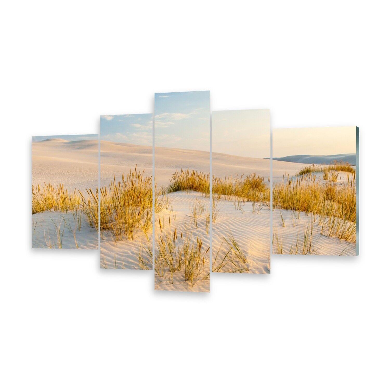 Mehrteilige Bilder Acrylglasbilder Wandbild Ostsee-Dünen