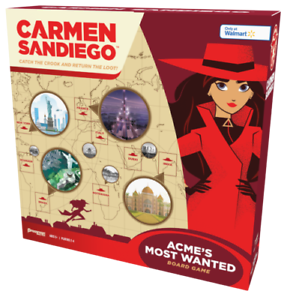 New Carmen Sandiego Board Game Walmart Exclusive Acme S Most Wanted Ebay