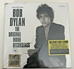 Bob Dylan Original Mono Recordings Ltd. Edit. Box set w/ 8 CD discs and book