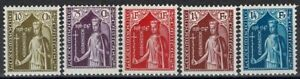 Lussemburgo LUXEMBOURG 1932 Caritas contessa Ermesinde frase inutilizzato MH * kw:125 €