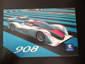 Mondial de Paris 2006 NEUF * Coffret NOREV 1:43 Model Car * PEUGEOT 908 RC
