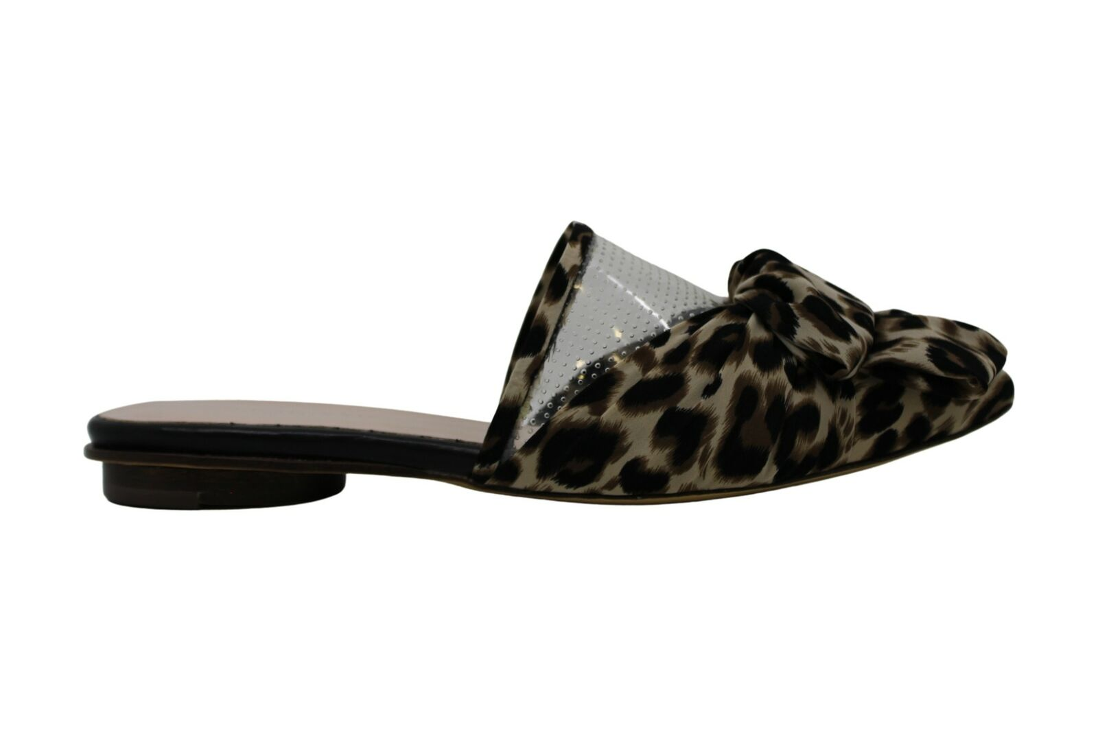 All Black Womens JUNGLE BOW Pointed Toe None Mules, MultiColor, Size 9.0 US / 7