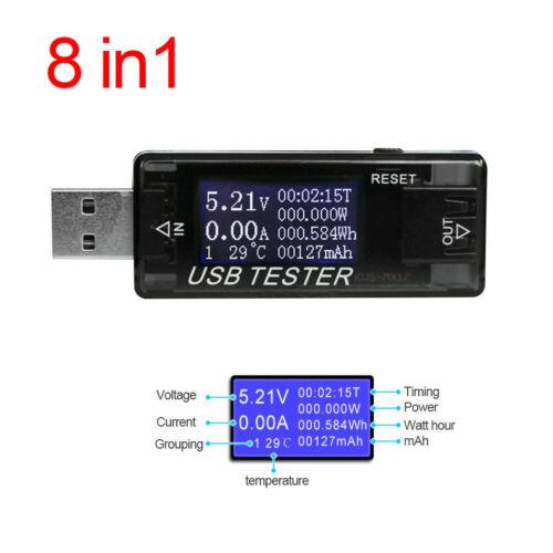 Strommesser Digital USB Tester Spannung Detektor KWS-MX17 DC4-30V 0-150W