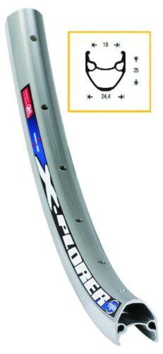 RYDE Felge Rigida X-Plorer schwarz 28Zoll 622 x 19,schwarz,28Zoll Felgen Radsport