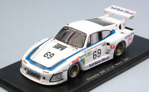 Porsche 935 L1 n ° 69 DFN Lm 1981 J. Lundgardh / M. Wilds A. Plankhorn 1:43