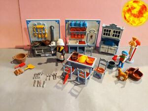 playmobil 5322 küche komplett & extra`s rosa serie
