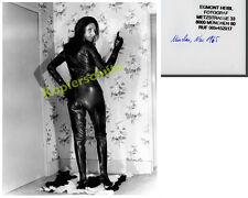 or. s/w-Foto Dame Erotik Stiefel Lederkostüm Fetisch Hintern Atomage Kunst 1965!