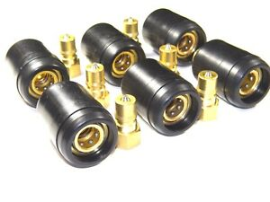 Carpet-Cleaning-Brass-1-4-034-QD-w-heat-shield-gt-for-Wands-Hoses