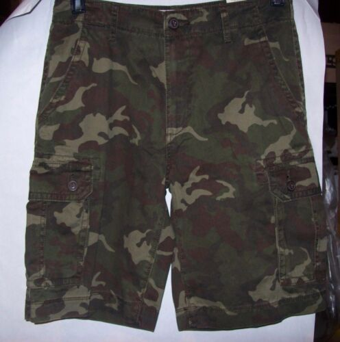 MULTIPLE PRINTS AND SIZES NWT MENS ARIZONA CLASSIC FIT PRINTED CARGO SHORTS