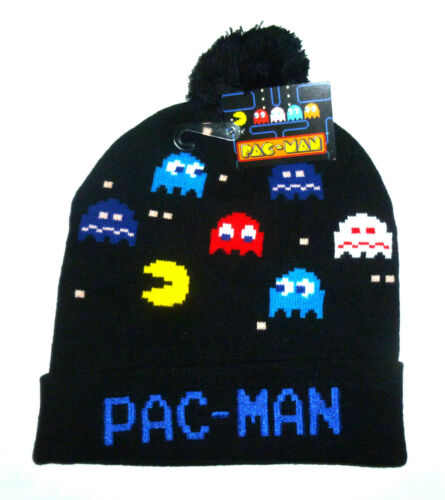 PAC Man invierno gorro con borla-Bandai Namco-llévense bommelmütze pudelhaube