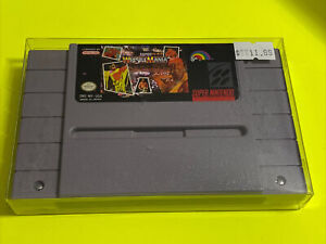 WORKING-SUPER-NINTENDO-SNES-RARE-GAME-CARTRIDGE-WWF-SUPER-WRESTLEMANIA