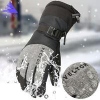 VECTOR Men's Winter Cycling Hiking Windproof Waterproof Warm Snow Ski Gloves L