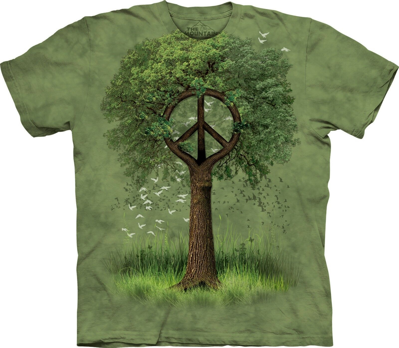 Roots of Peace Nature Shirt Adult Unisex The Mountain
