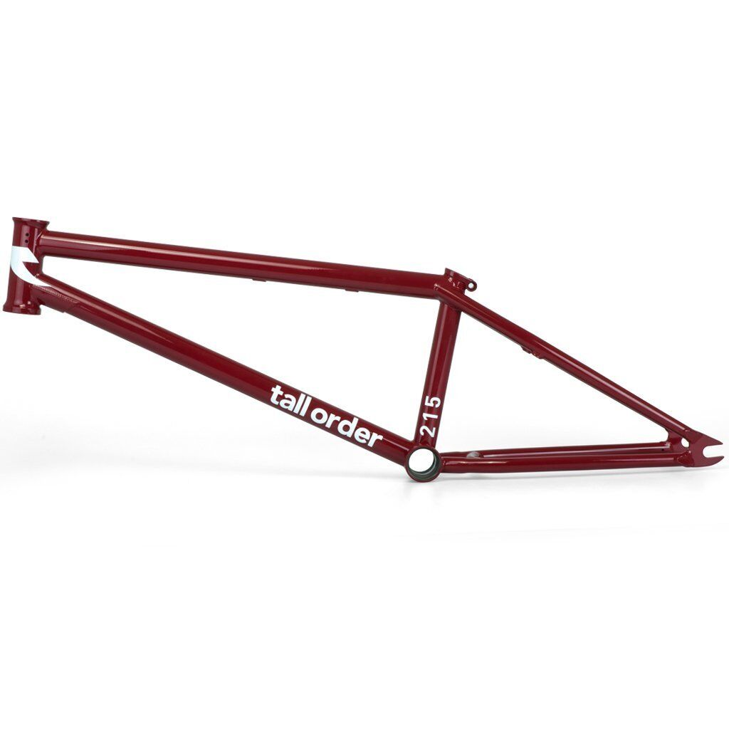 TALL ORDER BMX FRAME 215 GLOSS RED 21 BIKE BIKES 21  S&M FIT Sebastian Keep