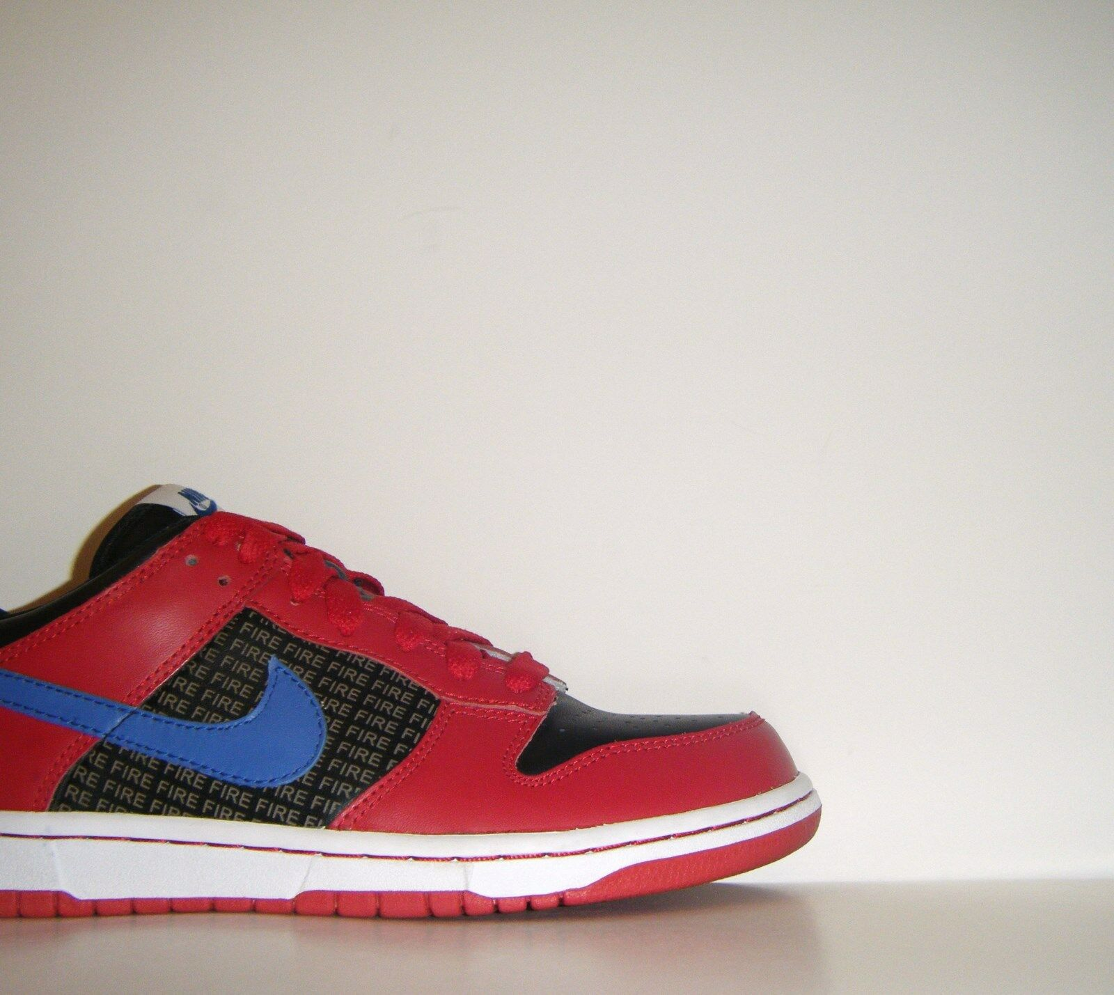 2008 Nike Nike Nike Dunk Low Fire & Ice ID Promo Sample QS Sz. 9 USA Red White bluee SB Pro fc0eaf