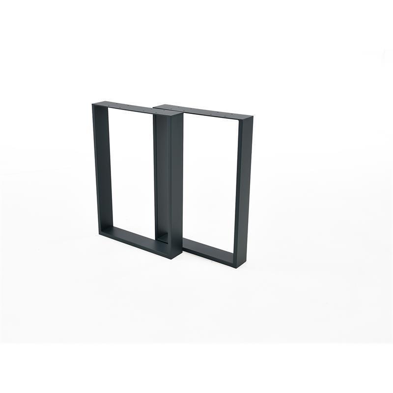 Mesa piernas tischkufen mesa bajo kufengestell bastidor kufengestell bajo mesa bastidor antracita par 3bf4df