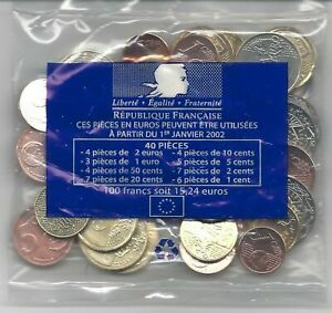 Starterkit Frankreich 2021 15,24 € # 2 Euro,1 Euro,10+20+50 Cent,1+2+5 Cent 2021