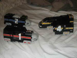 Power Rangers Lightspeed Rescue Super Train Megazord Rail Zord PARTS