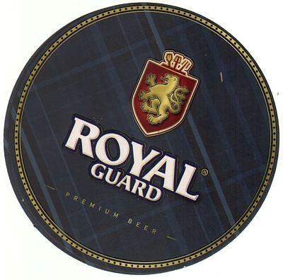 Chile Coaster Beer Royal Guard Premium 2014