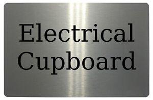 POST /& PARCELS Metal Aluminium Door Sign Plaque House Office Gate 5 Sizes Frame