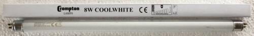 "5 PACK Crompton 8Watt 12/"" 8w T5 Fluorescent Tube caravan COOL WHITE"