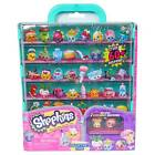 Shopkins S5 Teal Collector's Case With 2 Shopkins