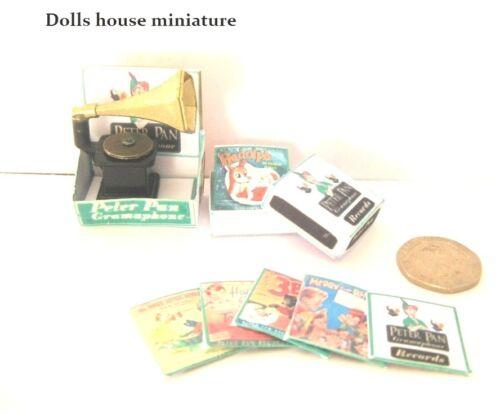 Artículo de Peter Pan gramopnone Set Dollshouse