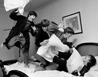 The Beatles Pillow Fight Wall Art Print Photo 14 X 11